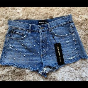 NWT The Kooples Jean Shorts